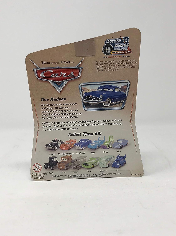 Disney Pixar Cars Series 1 Original Doc Hudson 1:55 Scale Die Cast Car