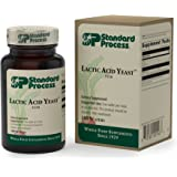 Standard Process - Lactic Acid Yeast - Supports Intestinal Health - 100 Wafers