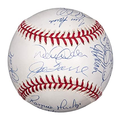 bc9f56c9a19 Image Unavailable. Image not available for. Color  1998 New York Yankees  Team Signed World Series Baseball Derek Jeter ...