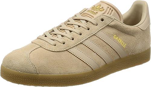 adidas Gazelle, Baskets Basses Homme, Marron Clay BrownGum
