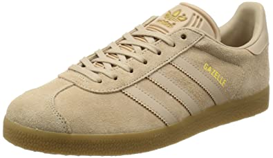 adidas Gazelle, Baskets Basses Homme, Marron Clay Brown/Gum, 40 EU