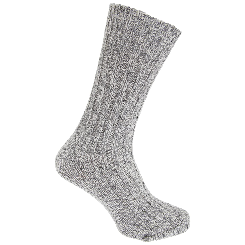 Storm Ridge - Calcetines para botas montaña mezcla de lana hombre caballero (1 par) (41-46 EU/Azul marino): Amazon.es: Ropa y accesorios