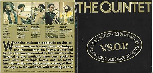 VSOP: The Quintet Live edition by VSOP, Herbie Hancock, Freddie Hubbard, Tony Williams, Ron Carter, Wayne Shorter (1990) Audio CD