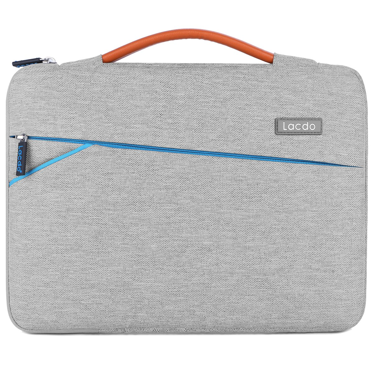 Lacdo 15-15.6 Inch Laptop Sleeve Case for MacBook Pro 15.4-inch Retina Display ASUS X551MA / F555LA Toshiba Satellite / Dell Inspiron / HP / Lenovo Notebook Bag Water Repellent, Gray B1A17C1