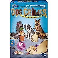 Think Fun Dog Crimes, Juego de Lógica, 1+ Jugadores, Edad Recomendada 8+ (Thinkfun 76414)