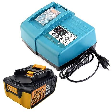 Batería de ion de litio de 18V 3,0Ah con 1,5A DC18RC ...