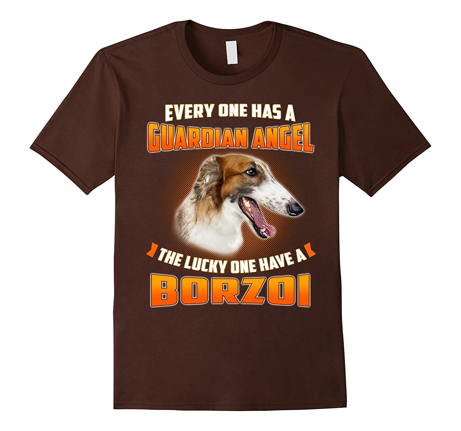 I Have A Borzoi My Guardian Angel T-Shirt-ah my shirt one gift
