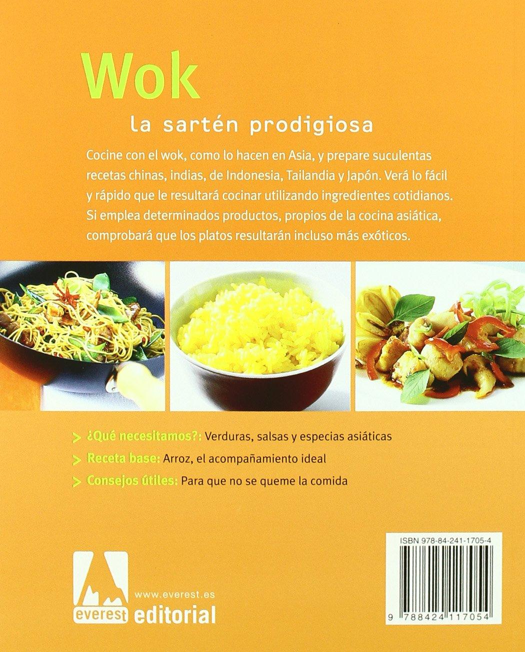 Wok: La Sarten Prodigiosa (Spanish Edition): Reinhardt Hess: 9788424117054: Amazon.com: Books