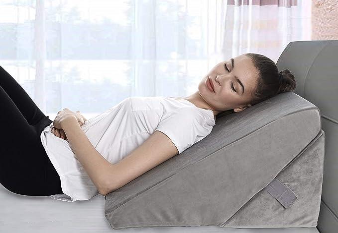 Amazon.com: Almohada de cuña de cama ajustable de espuma ...