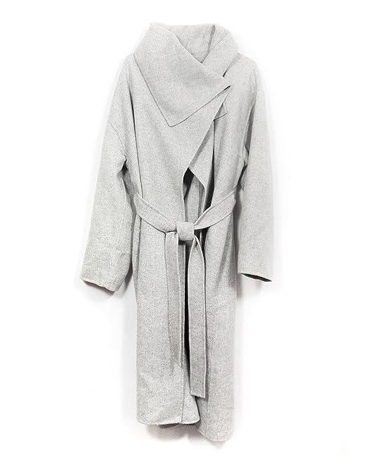 45a9752829 Zara Women Wool Coat With Wraparound Collar 7522/042 (X-Large ...