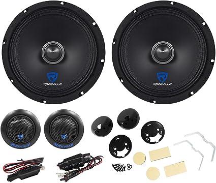 "Mid Range Speaker 125 watts RMS 6 ohms PAIR NEW Super Sounding 6.5/"" Woofer"