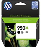 HP 950XL - Cartucho de tinta Original HP 950 XL de álta capacidad Negro para HP OfficeJet Pro 251dw, 276dw, 8100, 8600