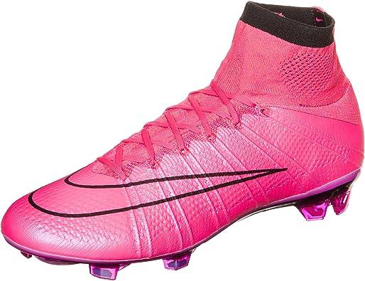 Nike Mercurial Superfly FG para hombre suelos firmes de fútbol rosa ...