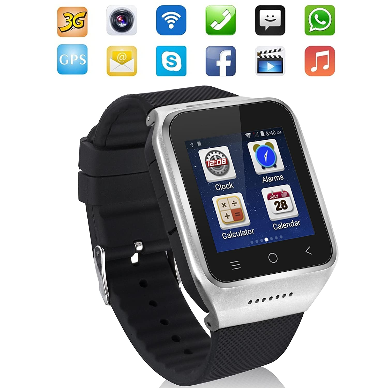 ZGPAX S8 Smartphone Bluetooth Reloj Inteligente Android 4.4 ...