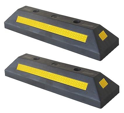 PWS-32Bx2 Tope de rueda plástico para estacionar en estacionamientos comerciales y domésticos y garajes