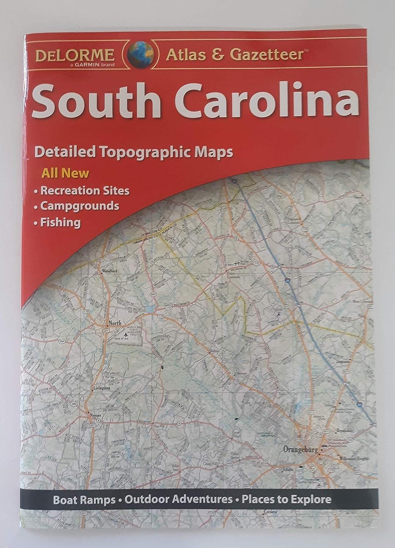 South Carolina Atlas /& Gazetteer