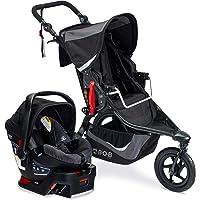 BOB Gear Revolution Flex 3.0 Jogging Stroller + Travel System with B-Safe 35 Infant Car Seat   Smooth Ride Suspension…