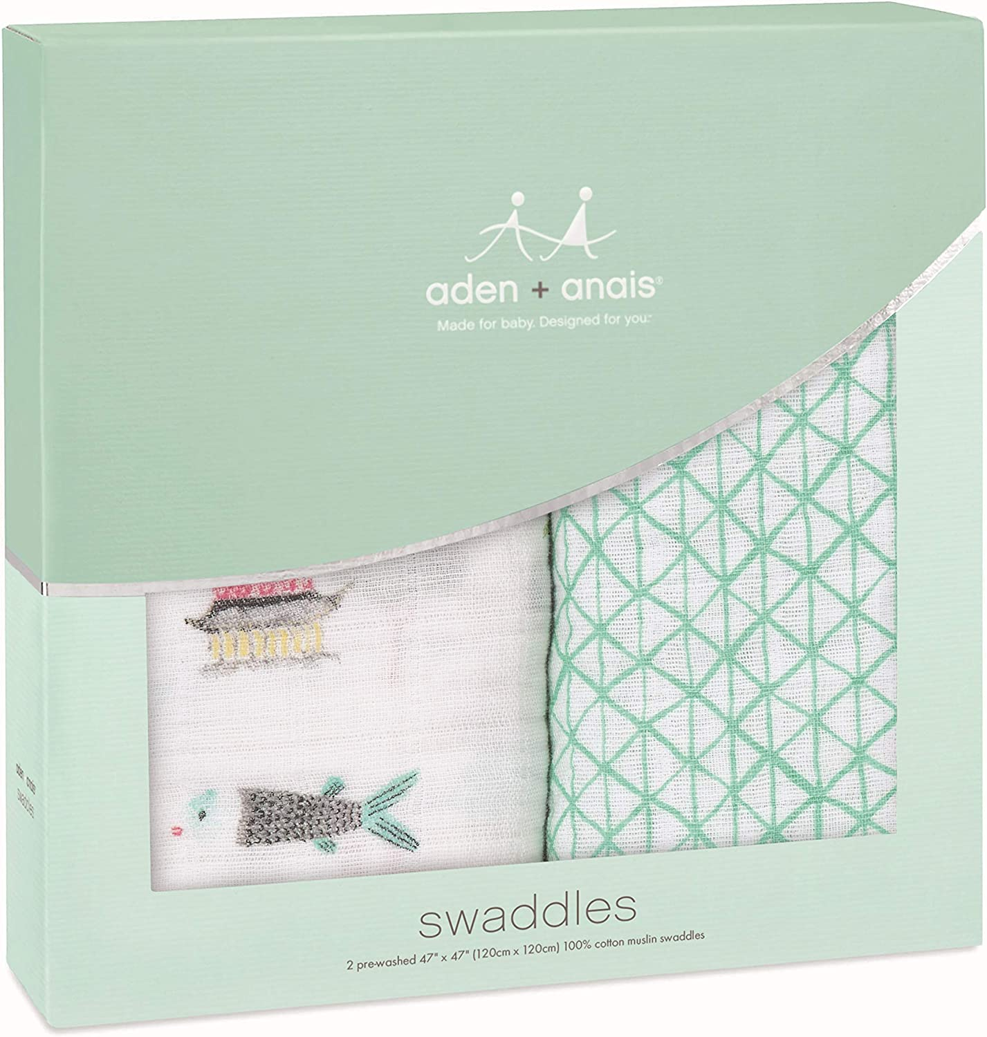 Boutique Muslin Blankets for Girls /& Boys Ideal Newborn /& Infant Swaddling Set anais Swaddle Blanket Baby Receiving Swaddles 4 Pack Perfect Shower Gifts aden Forest Fantasy