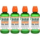 TheraBreath Dentist Recommended Fresh Breath Oral Rinse - Mild Mint Flavor fEDvxO, 16 Ounce (Pack of 4)