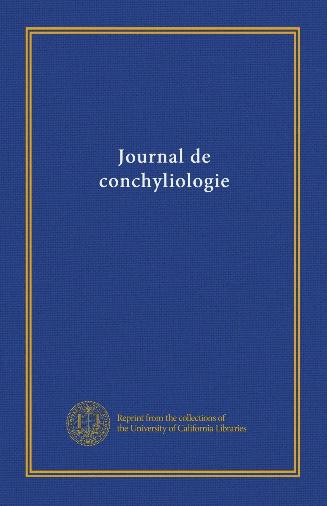 Download Journal de conchyliologie (v.27 (1879)) (French Edition) ebook