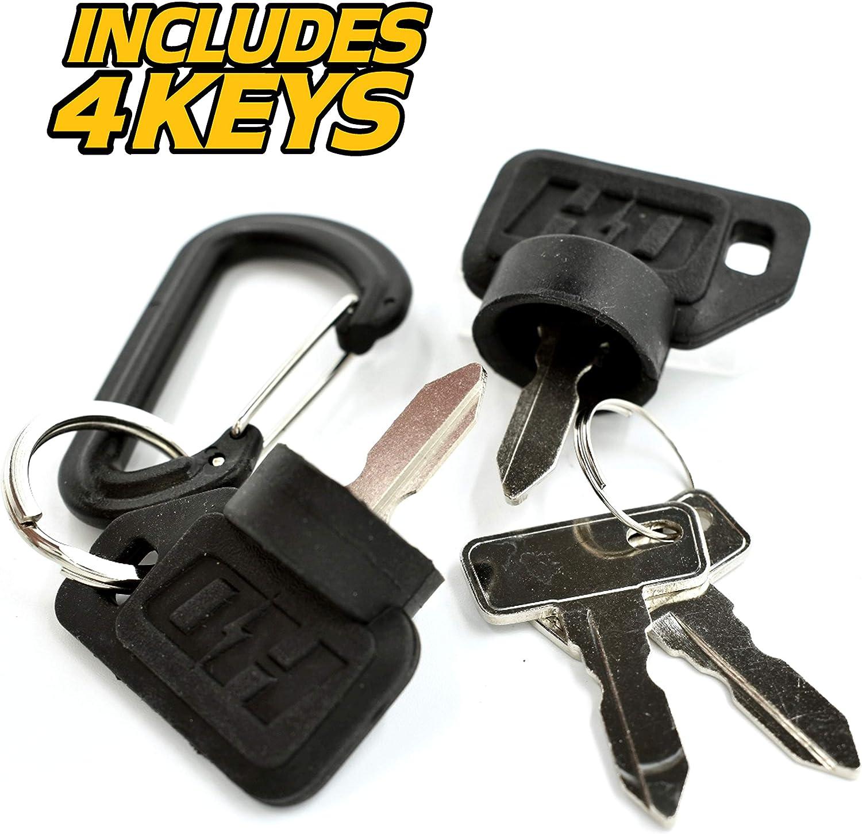 w// 4 Keys Carryall I /& II DS XRT HD Switch Starter Ignition Key Switch Replaces Club Car 1996-2002 Turf Clubcar