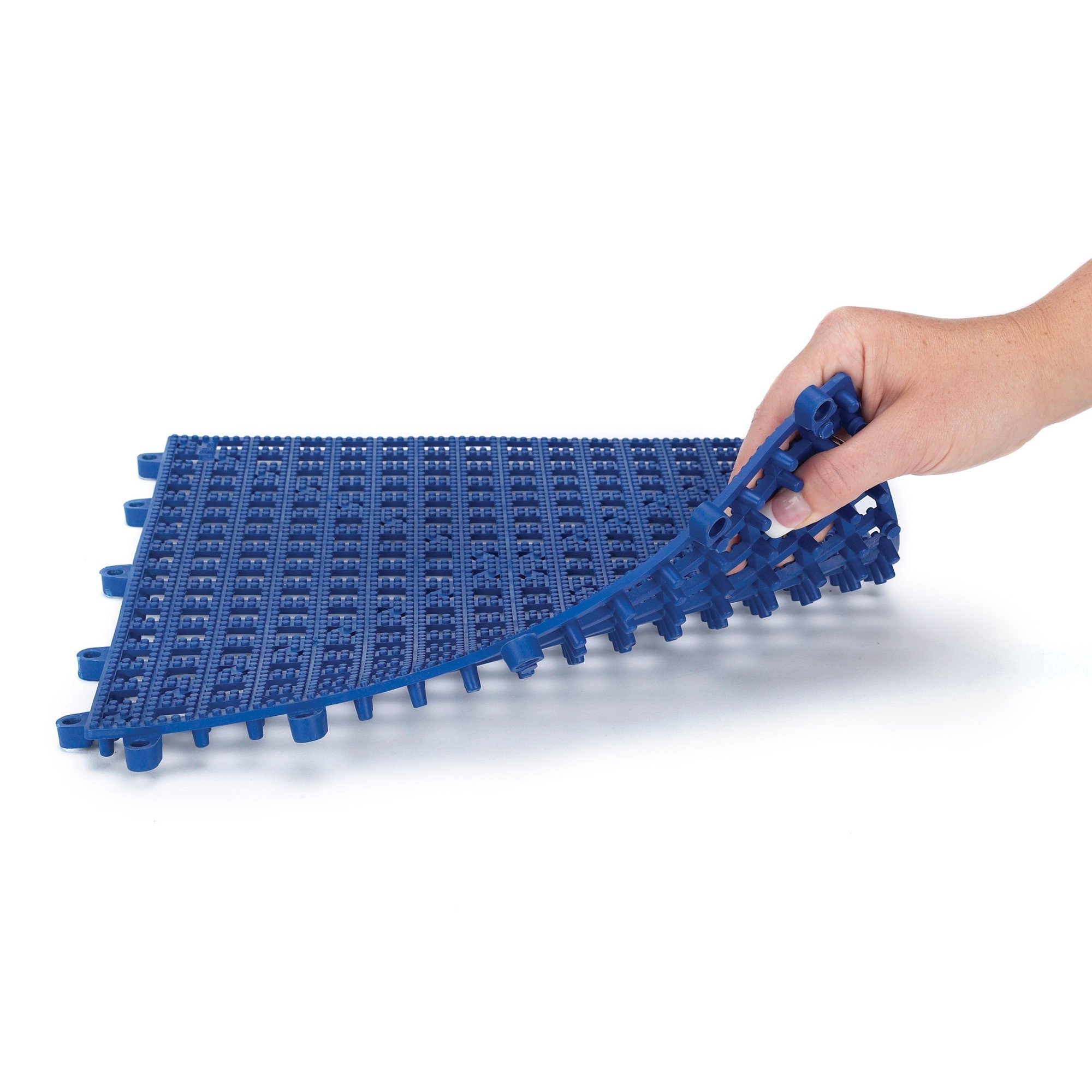 Top Performance  Floor Tiles for Groomers - Padded, Cushioned Floor Tiles Provide Unmatched Comfort and Traction for Professional Pet Groomers Throughout Their Workday, Blue by Top Performance (Image #2)