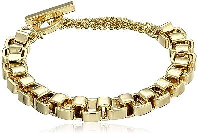 507959f3ac363 French Connection Medium Box Chain Bracelet  Amazon.co.uk  Jewellery