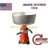 Milk Cream Electric Centrifugal Separator 80 L/H (Metal Drum and Receivers) 110 V USA/CANADA