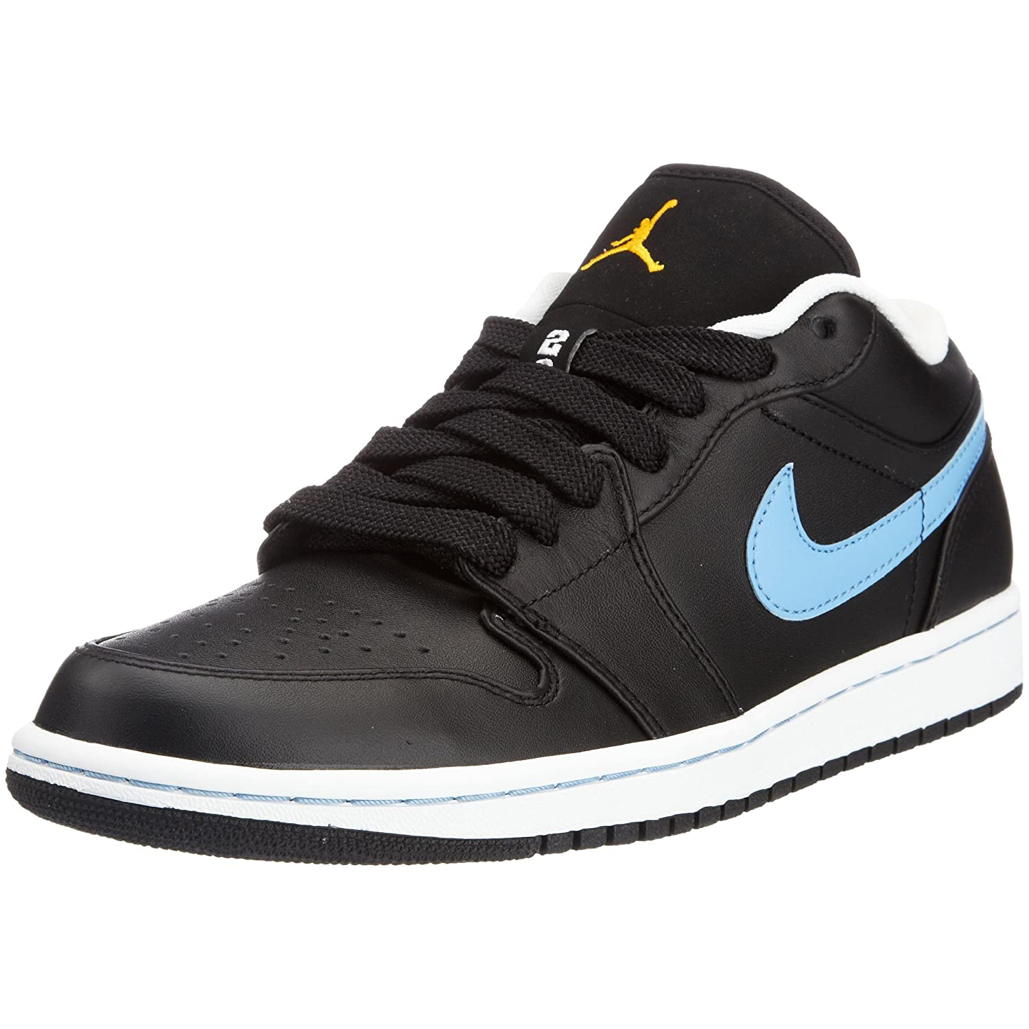 | AIR JORDAN 1 PHAT LOW MENS 338145 006 (9, BLACK