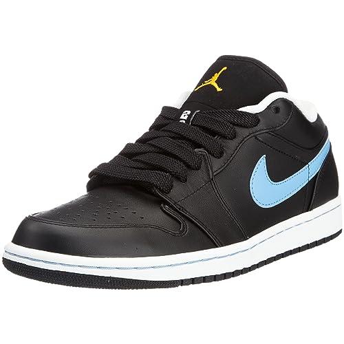 brand new 482e5 c5a36 Nike AIR Jordan 1 PHAT Low Mens 338145-006 (8.5, Black Varsity