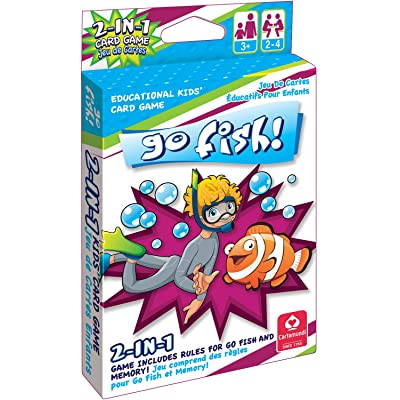 Cartamundi 1430 2 In 1 Card Game Go Fish & Memory by Cute Toys: Toys & Games