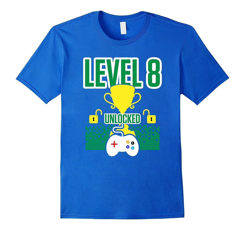 8 YEAR OLD Gamer Birthday Shirt