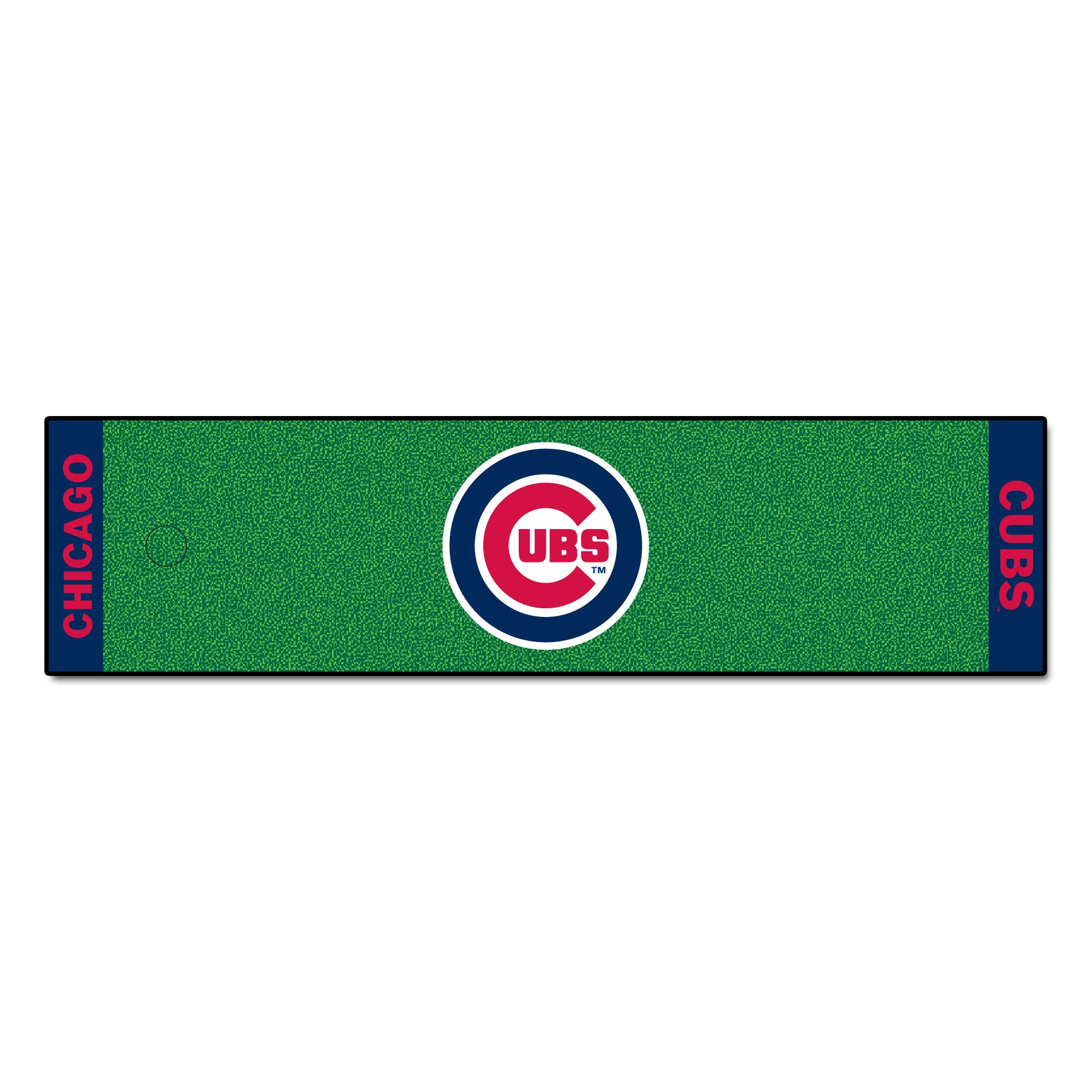 Fanmats MLB Chicago Cubs Nylon Face Putting Green Mat