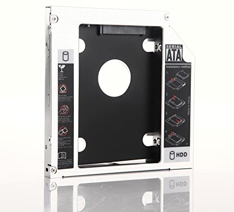 dy-tech SATA 2 nd disco duro SSD Caddy para ASUS K70 A, K73, X73 ...