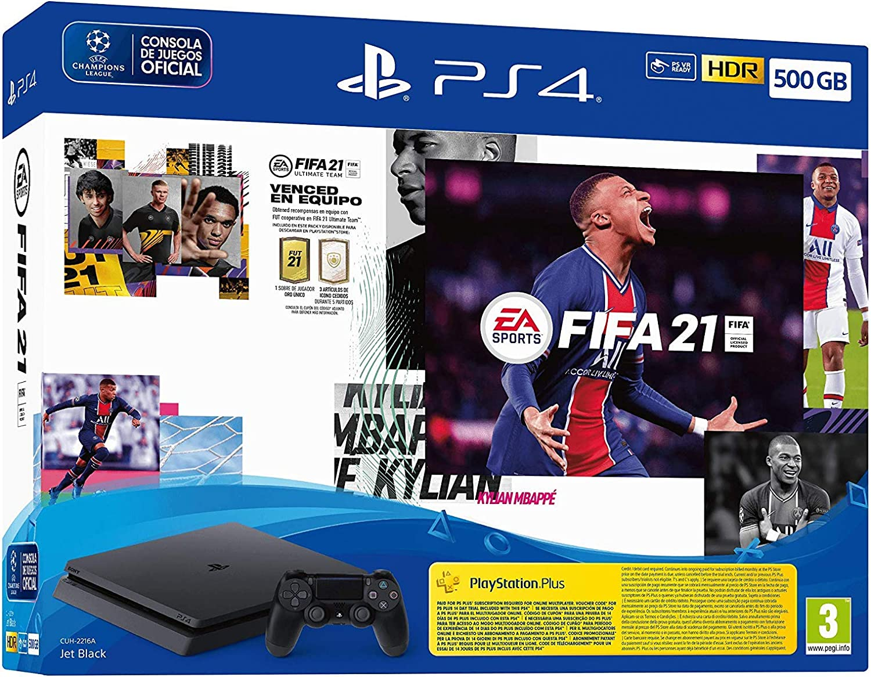 PlayStation 4 - Ps4 500Gb + Fifa 21