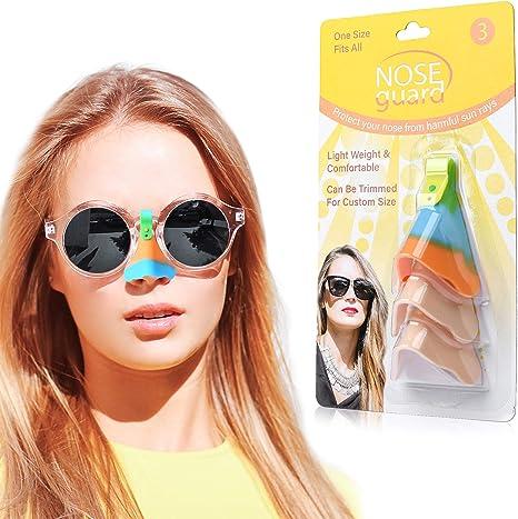 protecci/ón UV para la Nariz UPF50+ Juego de 3 Protectores UV para la Nariz Protector de Nariz UV para Gafas protecci/ón Solar para la Nariz protecci/ón Solar para la Nariz