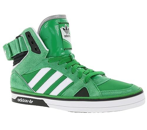 Adidas Space Diver Q33770, GrünWeißSchwarz, Grün Green