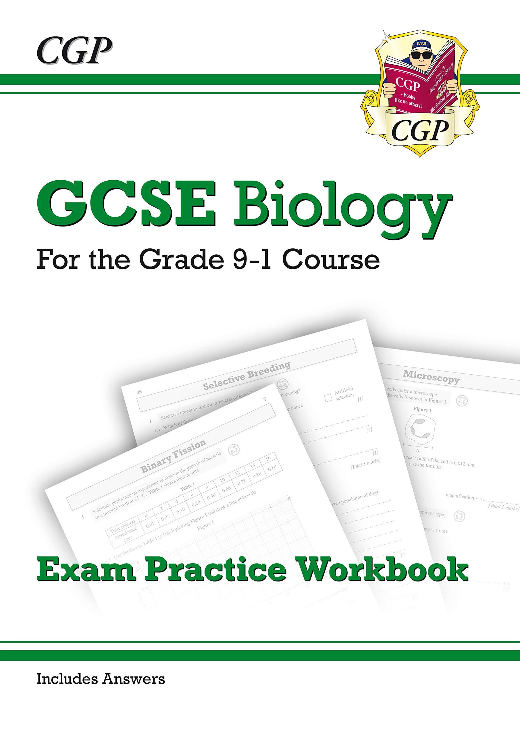 Grade 9-1 GCSE Biology: Exam Practice Workbook (with answers