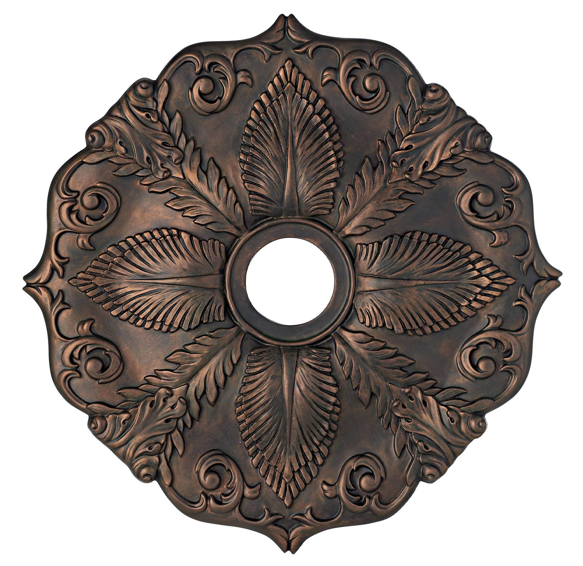 Classic Roman Bronze 24'' Wide Ceiling Medallion by Universal Lighting and Decor (Image #3)