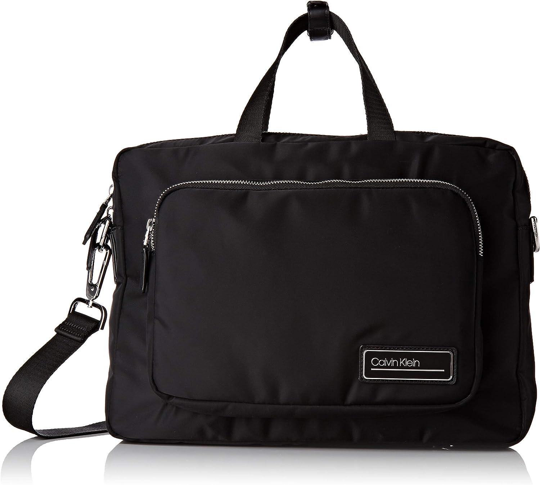 Calvin Klein JEANS PRIMARY 1 GUSSET LAPTOP BAG Maletín/Portadocumentos hommes Negro Maletín/Portadocumentos
