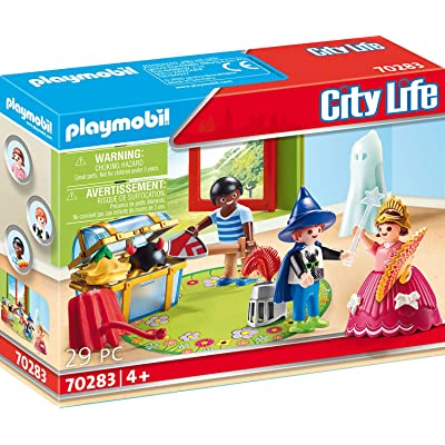 Playmobil 70283 Children with Disguise Box - New 2020: Toys & Games
