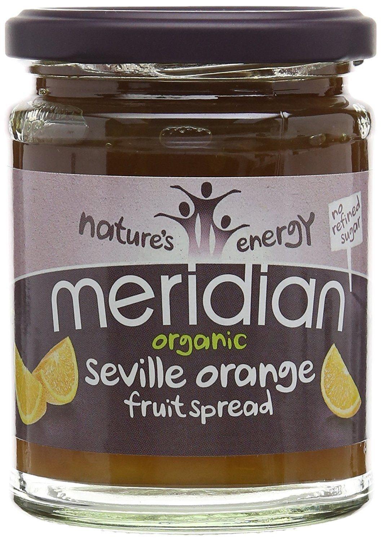 Meridian Organic Orange Fruit Spread 284g (Pack of 3) by Meridian Foods (Image #1)