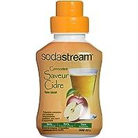 Sodastream Concentré Sirop Saveur Cidre pour Machine à Soda 500ml