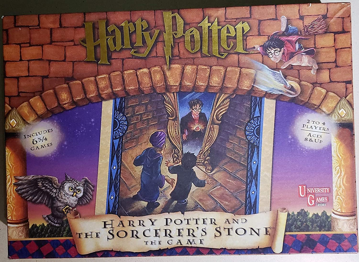 U-PICK Harry Potter and the Sorcerers Stone MYSTERY AT HOGWARTS parts and pieces