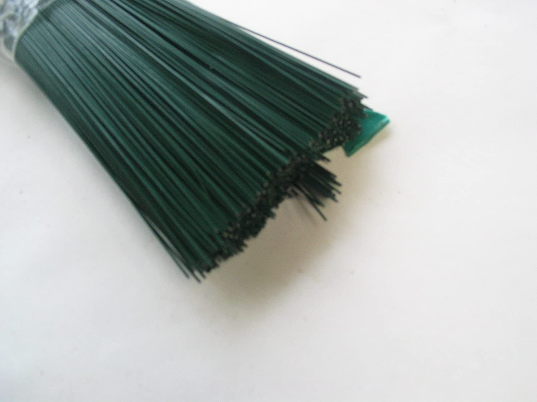 100 Stück Steckdraht, Basteldraht, grün, 0,8 mm x 300 mm ...