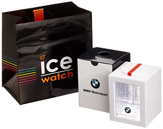 Ice-Watch - BMW Motorsport (sili) White - Men s (Unisex) wristwatch with  silicon strap - 000833 (Small)  SK  Amazon.co.uk  Watches 4df40c17e542
