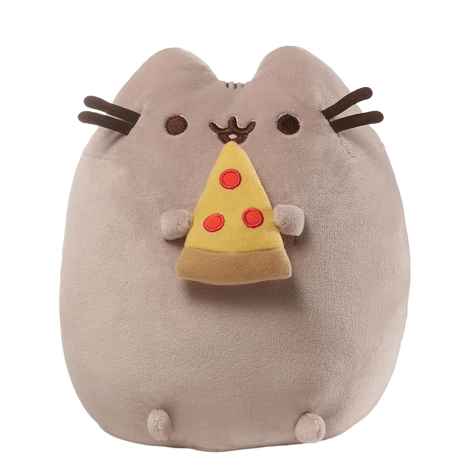 GUND Pusheen Snackables Potato Chip Cat Plush Stuffed Animal, Gray, 9.5 9.5 4058948