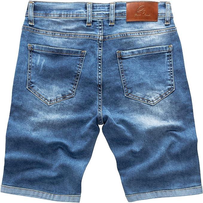 Blue Ridge WE Used Look Slim Jeans mit Logo Patch W33 = W33