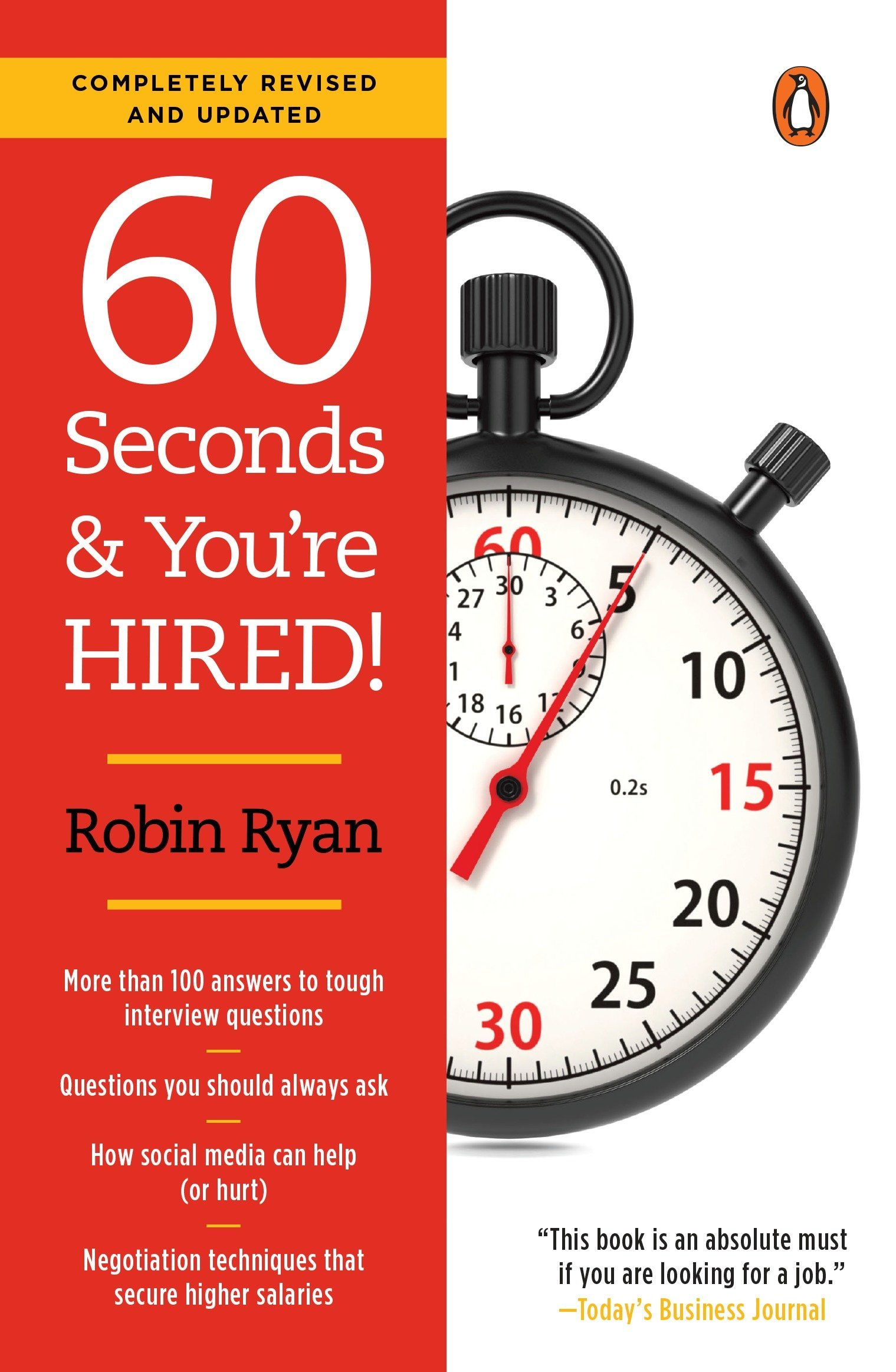 Revised Edition 60 Seconds and Youre Hired!