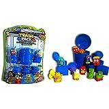 Trash Pack - 6546 - Figurine - Blister de 12 Personnages et Poubelle - Modèle aléatoire